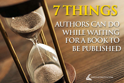 waiting for a book to be published