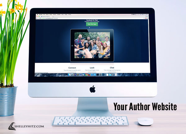 your author website