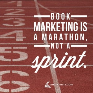 book marketing marathon quote