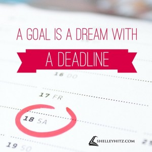 dream with deadline quote