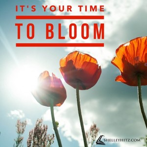 its your time to bloom