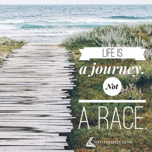 journey not race quote