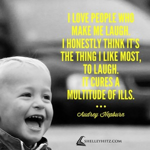 people make me laugh quote