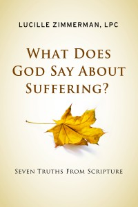 What does God say about suffering