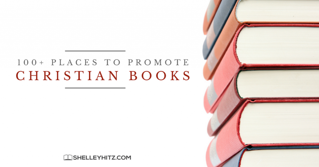 places to promote Christian books