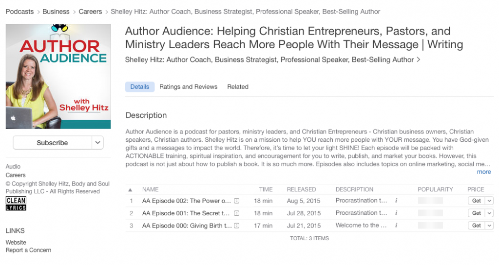 how to review a podcast in itunes 1