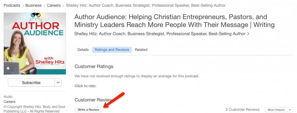 how to review a podcast in itunes 4