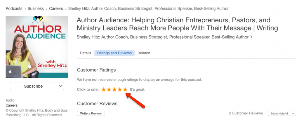 how to review a podcast in itunes 4a