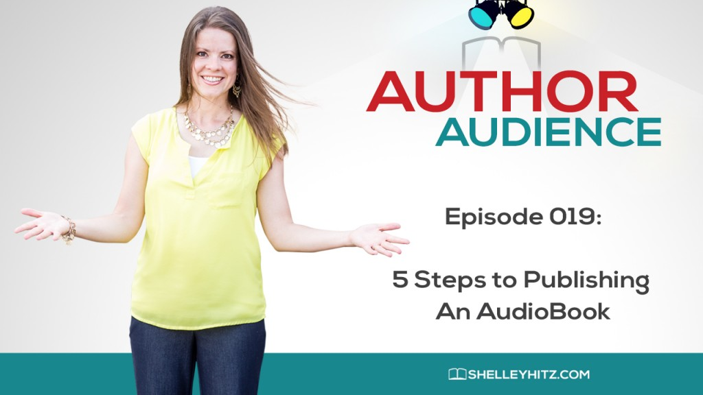 Publishing an audiobook