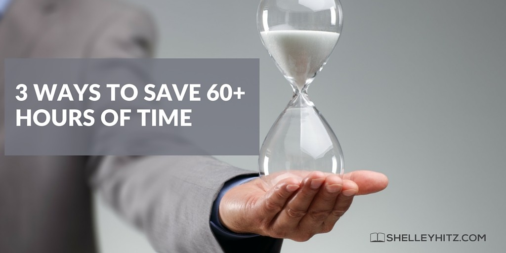 save 60+ hours of time