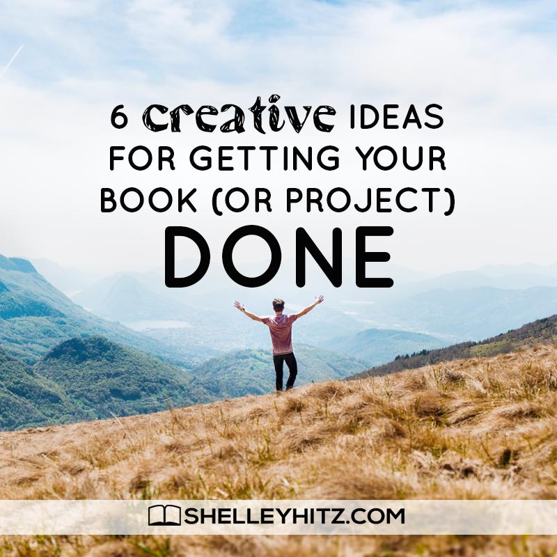 finish writing a book