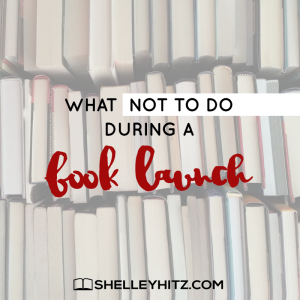 Don't Make This Book Launch Mistake