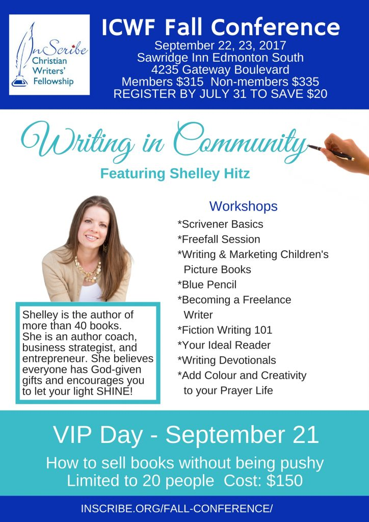 christian writers conference canada